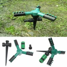 360° Rotating Irrigation 3 Arm Sprayer Lawn Sprinkler Automatic Watering System