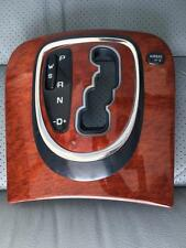 Mercedes W 220 S 430 500 600 Burl Wood Shifter Console Panel Wood Trim !