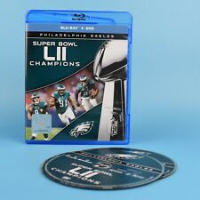 NFL Super Bowl LII Champions - Philadelphia Eagles Blu-Ray + DVD - Football