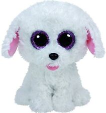 """TY PIPPIE THE POODLE DOG BEANIE BOO 6"""" SOFT TOY PLUSH 36 MONTHS+ WITH HEART TAG"""