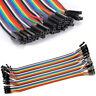 40pcs 20cm Dupont Female to Female Breadboard Jumper Wire F Raspberry Pi Arduino