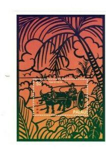 Palau 1997 - Year of the Ox - Souvenir Sheet - MNH