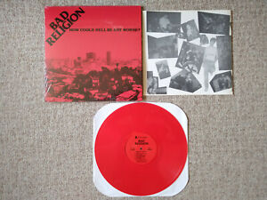 Bad Religion - How Could Hell Be Any Worse? - Vinyl LP (LIMITED 3000, RED VINYL)