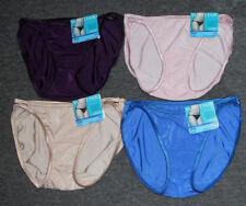 4 pairs VANITY FAIR String Bikini ILLUMINATION 18108 Panty MIXED Colors Sz- 5 /S