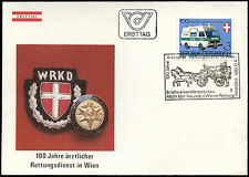 Austria 1981 Emergency Medical Service FDC First Day Cover #C17724