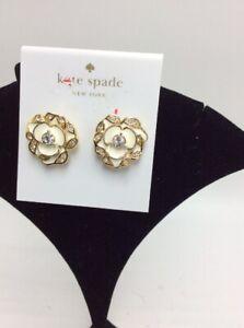 NWT Kate Spade flower earrings #516
