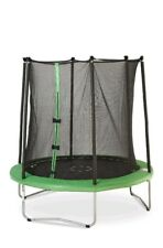 Trampoline with Safety Net Enclosure Outdoor Play Kids Jardin Patio Summer Fun