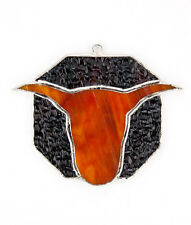 """""""Switchables"""" Stained Glass Night Light Cover - Longhorn - #SW-175"""