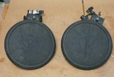 2 ROLAND PD-8A DRUM PADS WITH MOUNTING BRACKETS !  1J21  F