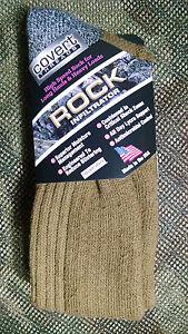 Covert Threads Rock Infiltrator Military Socks-ALL SIZES-Black-Fol-Coyote-Sand