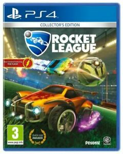 Rocket League Collectors Edition Sony Playstation PS4 Game VGC NO CODE