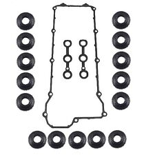 For BMW 325I 325IS 525I M3 E36 E34 OEM Valve Cover Gasket Set Kit w/ Grommets