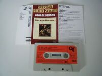GEORGE BENSON THE EARLY YEARS CASSETTE TAPE 1982 RED PAPER LABEL POLYDOR CTI UK