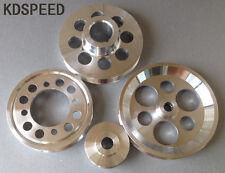 Lightweight pulley for GS300 CS300 Toyota Supra 2JZ 2JZGE 2JZGTE 1JZ 1JZGTE 4pcs