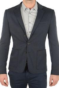 GUESS Herren Blazer Sakko Casual Slim mit Taschen L-XL