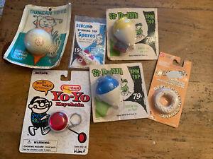 Lot of Vintage Estate Yo-Yo's Duncan Yomega Lot