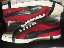 Puma Alexander McQueen AMQ Canvas Street Low Red/Navy/White Mens US10 Rare