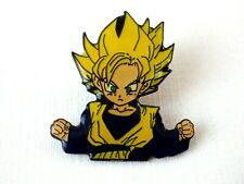 Pin's vintage épinglette Collector DRAGON BALL Z son goten DBZ DBS neuf 3x3,3 cm