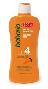 Babaria Carrot Oil Sun Milk SPF 4 300ml