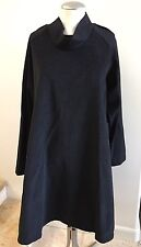 New without Tags XENIA DESIGN Wool Long Raglan Sleeve Dress Size Medium