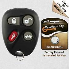 Car Transmitter Alarm Remote Key Control for 2004 2005 2006 Cadillac SRX 4btn