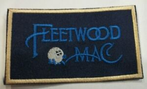 """Fleetwood Mac~Embroidered Patch~Iron or Sew on~3 1/2"""" x 2""""~Stevie Nicks"""