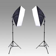 Studio Kit Photo Studio Lighting Softbox Video Light kit 50*70cm + light stand