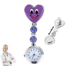 Reloj de pulsera Smiley Enfermera segunda mano Púrpura