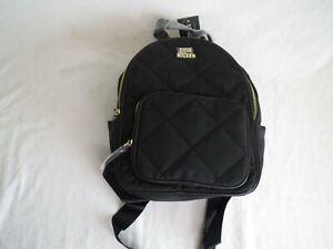 Steve Madden Black Quilted Backpack
