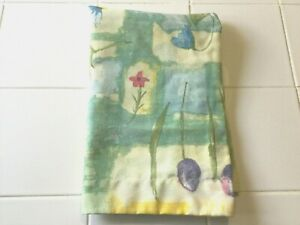 Vintage Springs Industries Standard Pillow Sham Spring Floral NWOT