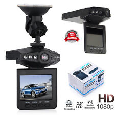 "Car DVR Cam Dash Video Recorder Night Vision G-Sensor Camera  2.5"" Full HD 1080P"