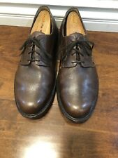 mephisto Air Relax Mens Shoes Brown Leather Sz 14 US