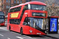 LT40 LTZ 1040 METROLINE NEW ROUTEMASTER 30TH DEC 2017 6x4 London Bus Photo