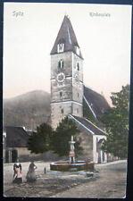 Austria~Austro-Hungary~19 00's Spitz Kirchenplatz