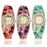 JN_ Women Flower Butterfly Dress Bangle Numbers Dial Rhinestone Wrist Watch Ho