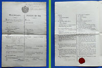Risorgimento - Collezionismo - Foglio di Via - Lombardo Veneto Austria - 1847
