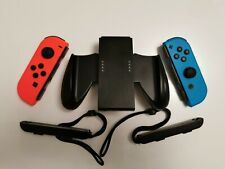 Nintendo Joy-Con Neon Red/Neon Blue + Grip and Straps