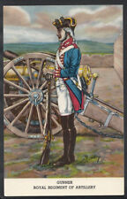 Military Postcard - Gunner of The Royal Regiment of Artillery   RS4169