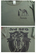 3rd Special Forces Group NOMADS T-Shirt Large Ultra Cotton Military Collectible