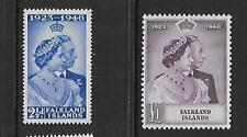 Falkland Islands 1948 Royal Silver Wedding mm