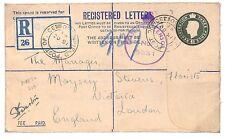 K58 1943 (WW2) P'Stat - Military, FPO250 Tunisia {samwells-covers}