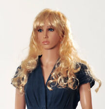 FEMALE STYLISH MANNEQUIN LIGHT SKIN & FREE WIG & FREE DELIVERY 2 HEADS/ FACES
