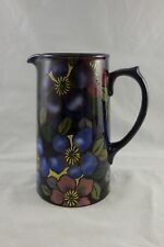 Royal Stanley Ware Jacobean Clematis Tall Jug Art Deco