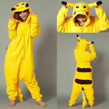 Xmas Pikachu Kigurumi Pyjama Unisex Adult Child Animal Halloween Cosplay Costume