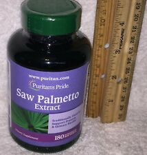 Standardized Saw Palmetto Extract (Puritan's Pride),   180 softgels
