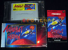 ACROBAT MISSION Super Nintendo Snes Famicom Versione Giapponese NTSC ○○ COMPLETO