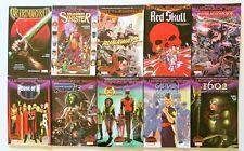 Warzones Battleworld Runaways Deadpool Lot of 10 Marvel Graphic Novel Comic Book