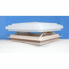 Roof Vent Sky Light Caravan Motorhome 400 x 400mm Flynet Beige MPK Rooflight