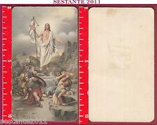2530 SANTINO HOLY CARD GESù CRISTO RISORTO RISURREZIONE RESURREZIONE FB 1522