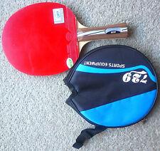Friendship 729 Table Tennis Bat: RITC2020 w/ Higher + RITC729 rubbers, Melbourne